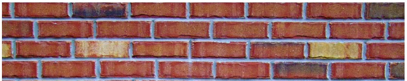 Counting bricks on a wall