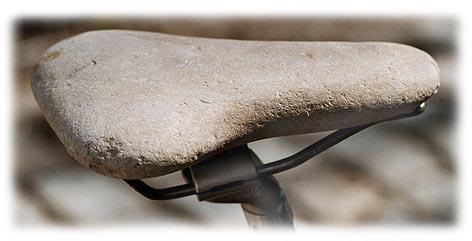 Stone saddle