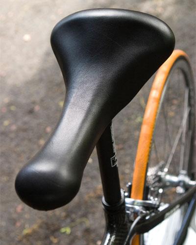 Strange saddle