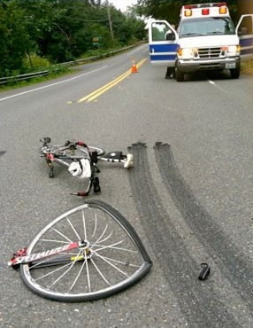 bike accident