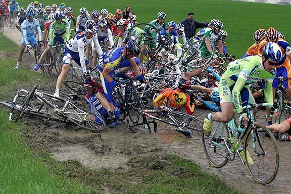 Paris-Roubaix carnage