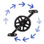 circular pedaling