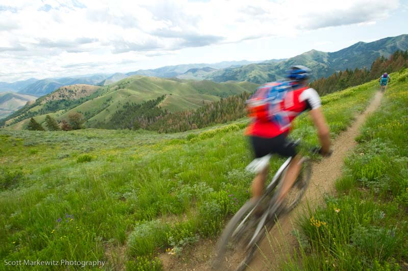 mountain biking singletrack