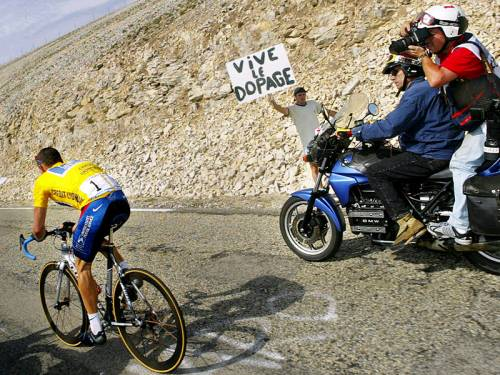 lance armstrong doping sign