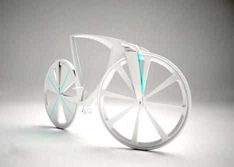 futuristic road bike