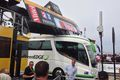 Orica greenedge bus stuck