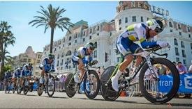 Orica-Greenedge team time trial