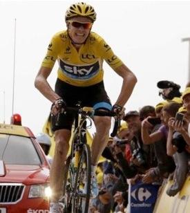 Chris Froome Mont Ventoux