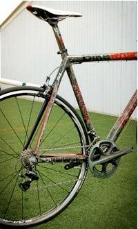 Jack Kane custom Nighthawk SL rear wheel