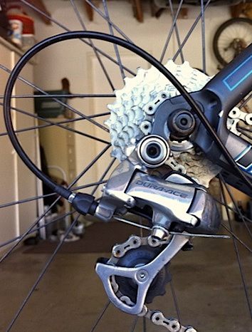 Mechanical bicycle derailleur, Shimano Dura-Ace
