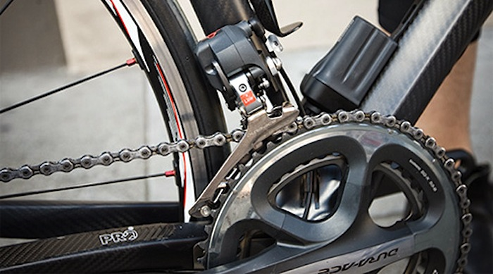 Electric shifting with Shimano Dura-Ace Di2