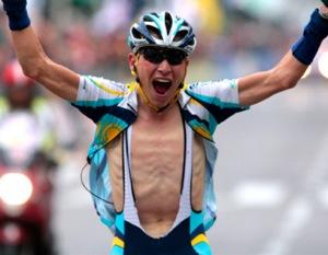 skinny cyclist, effects on body