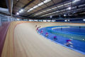 Track cycling velodrome