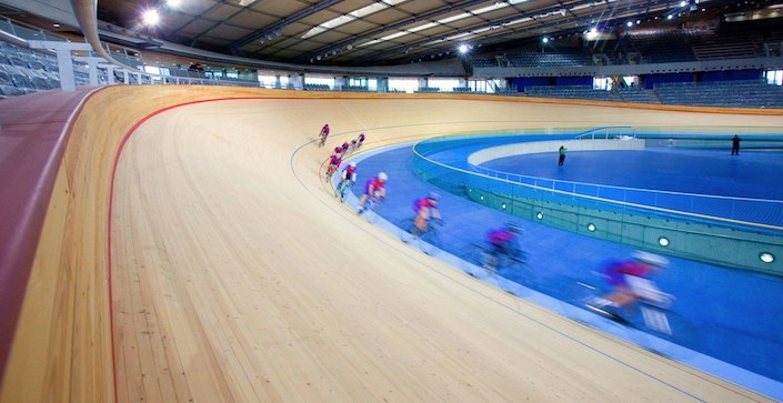 Longon 2012 olympic games track cycling velodrome