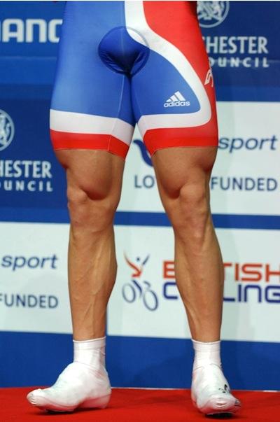 Sir Chris Hoy legs, thighs