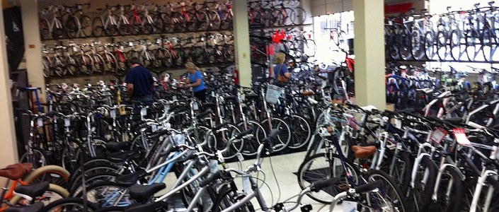 Local bike shops dealing with new technology