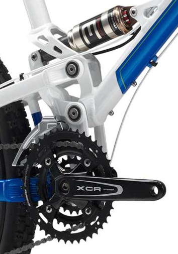 Mongoose floating drivetrain