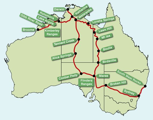 outback cycle adventures Australia