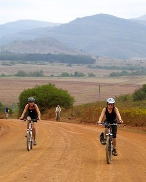 African Bikers cycling tour Swaziland