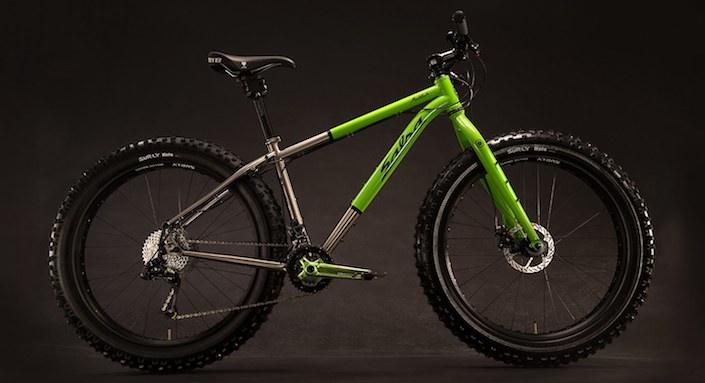 2014 Salsa Mukluk Ti fat bike