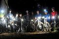 Mountain bike bicycle lighting