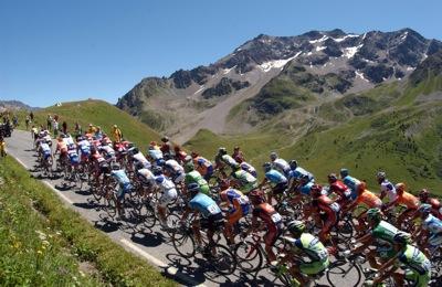 Alpe d'Huez mountain climb tour de france 2008