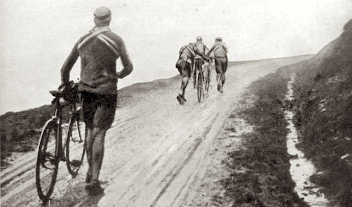 Thys, Christophe, Buysse, Garrigou - Tour de France 1913