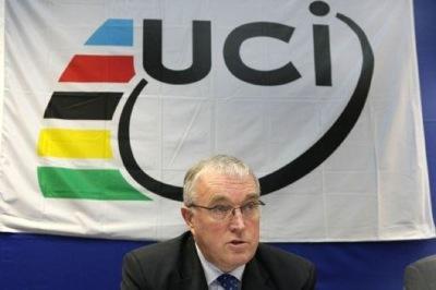 UCI President Pat McQuaid