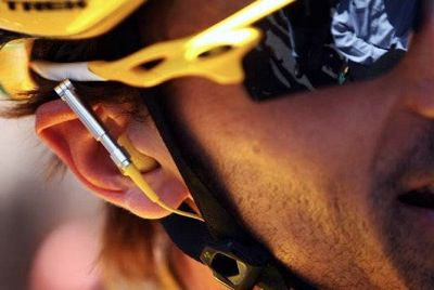 UCI race radios in WorldTour