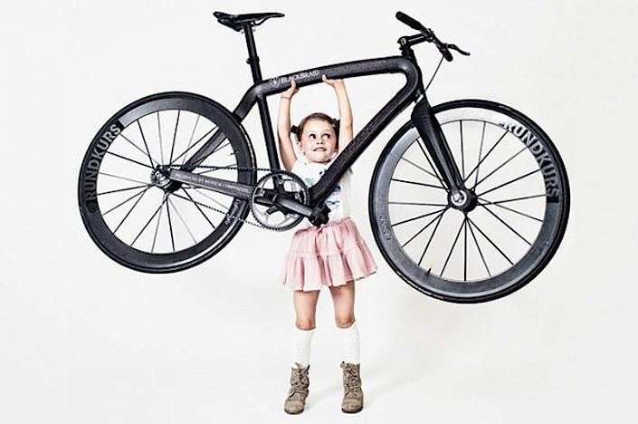 PG-Bikes ultralight Blackbraid bicycle