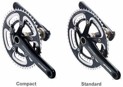 Compact crank vs standard crank