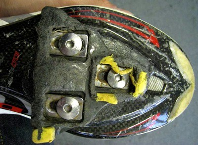 Check your cleats for wear