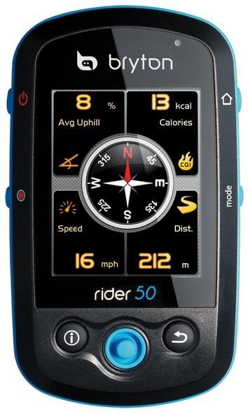 Bryton Rider 50 GPS cycling computer