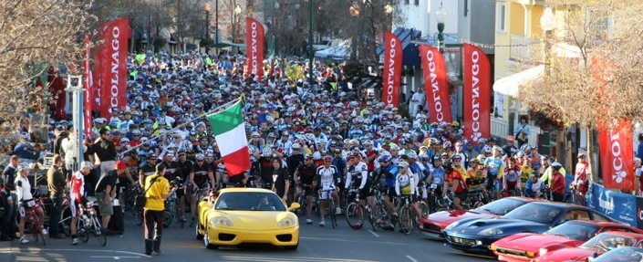 Gran Fondo in Little Italy, San Diego