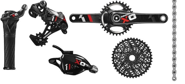 SRAM X01 11-speed groupset