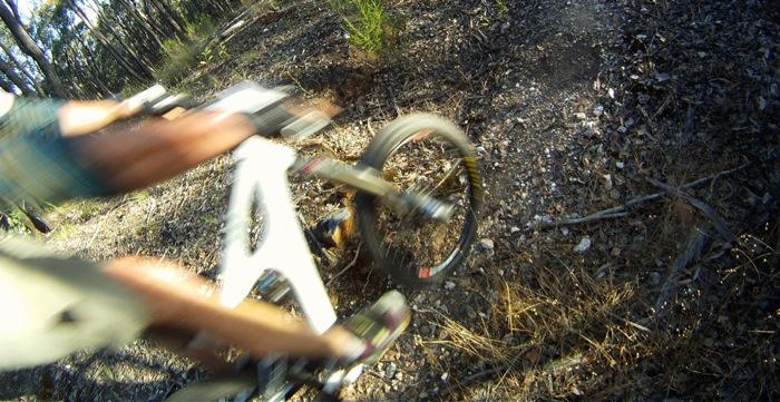 Mountain XC Bike Trail