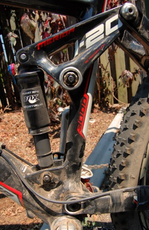 Mountain bike suspension design