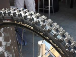 Bike tire dirty dan