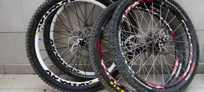 Upgrade mountain bike wheels