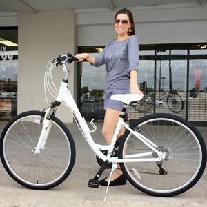 New Hybrid Bike