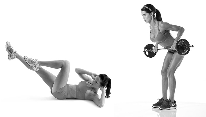 Cycling Core Exercises