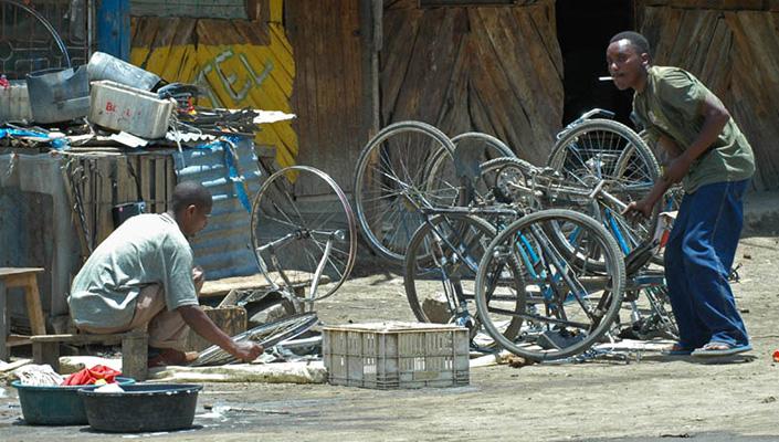 Home bicycle mechanic