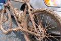 Angel  s camp muddy bike by nickrak