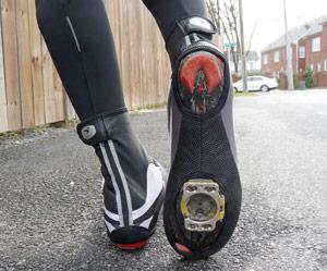winter cycling shoe covers