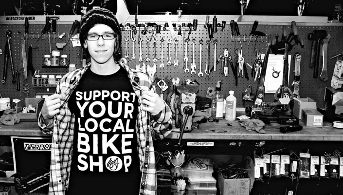 Support your local bike shop