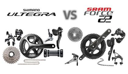 Read 'Shimano Ultegra vs. SRAM Force 2015'