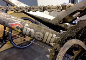 dirty road bicycle - Cinelli Experience