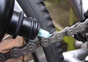 lube your bicycle chain