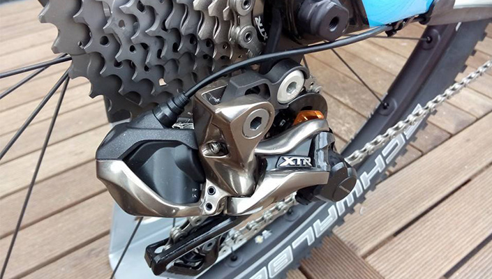 Electronic components comes to MTB via XTR Di2