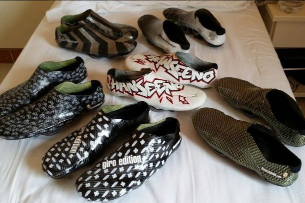 Assorted Hanseeno cycling shoes